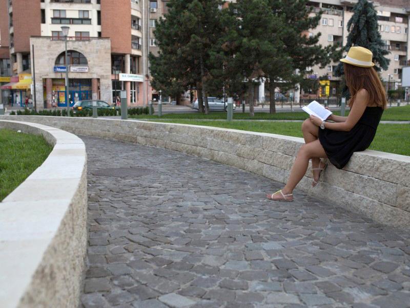 Amenajare alee din Centrul Civic, Alba Iulia  Alba Iulia ELIS PAVAJE