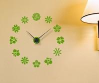 """Sticker tip ceas de perete """"Multe Flori"""""""