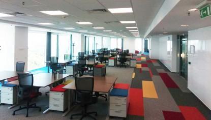 Amenajare birouri, sediile E.ON, Bucuresti, Iasi, Targu Mures