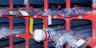 Rafturi cu role pentru depozitarea produselor lungi