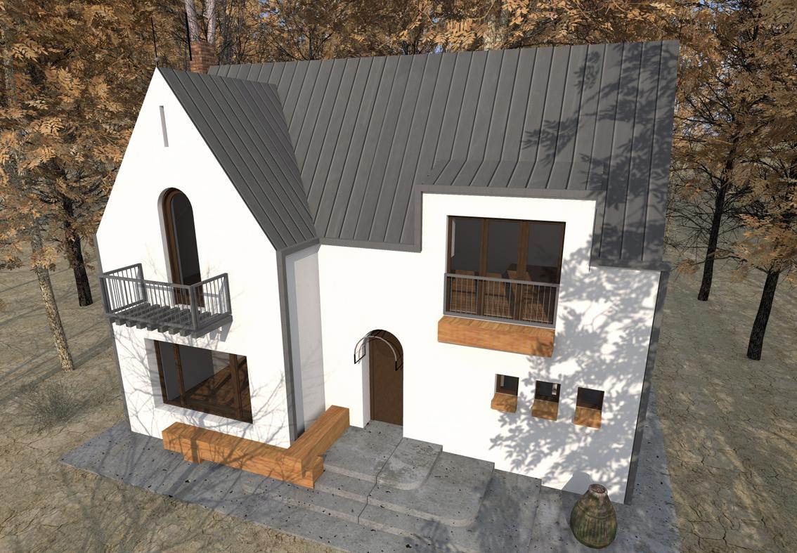 Casa de vacanta P+M - Nistoresti - Breaza AsiCarhitectura