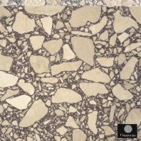 Placi Terrazzo cu rasina cu granulatii mari de marmura