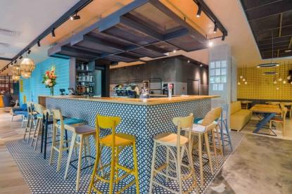 Zona barului - proiect Chairry - ibis Hotel Bucuresti  Bucuresti CHAIRRY