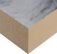 Placi de termoizolatie acoperite cu aluminiu Sikatherm® PIR AL