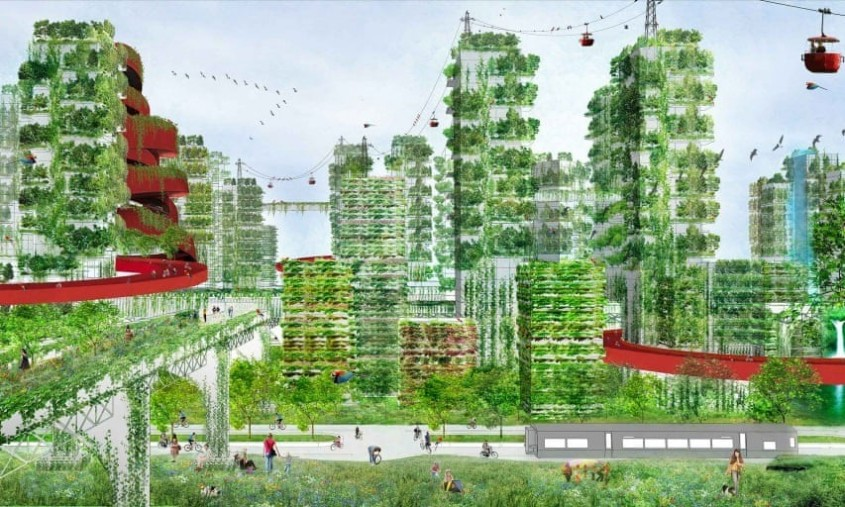 Arhitecții în luptă cu poluarea: Cum curățăm aerul cu clădiri