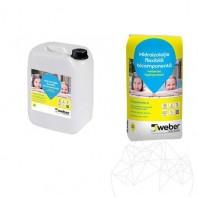 Hidroizolatie Weber.Tec Hydroprotect Kit (Sac20 kg+Bidon 10kg) Weber Saint Gobain Romania  APN-7432