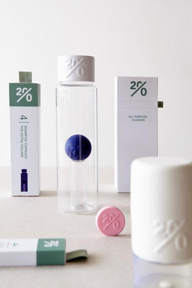 Twenty - produse de curatenie fara apa si plastic