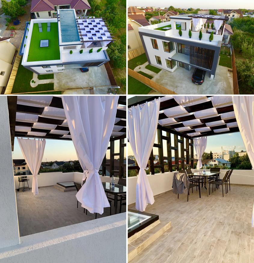 Ferestrele FAKRO pentru acoperiș terasă vă invită la relaxare pe malurile însorite ale Oltului