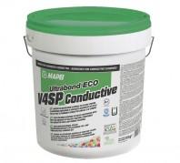 Adeziv in dispersie apoasa pentru montajul pardoselilor conductive din vinil cauciuc si a acoperirilor textile -