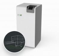 Pompa de căldură geotermală cu antigel - RuralECO WPS412