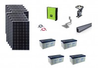 Sistem fotovoltaic hibrid Poweracu 3kwp prindere tigla