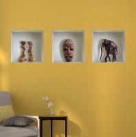 Sticker cu efect 3D - Africa