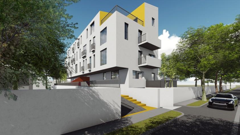 Locuinte colective D+P+2E+M - Bucuresti - str. Peris - 01.8  Bucuresti AsiCarhitectura
