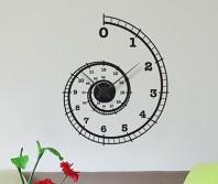 """Sticker tip ceas de perete """"Spirala timpului"""""""