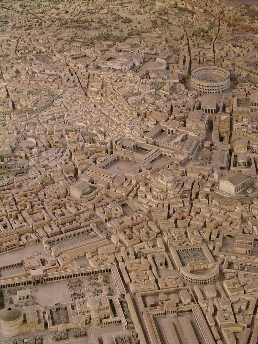 Un arheolog a lucrat 38 de ani la macheta Romei Antice Cum arăta orașul la apogeu