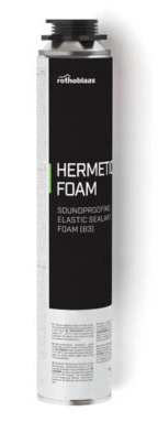 Spuma PU expandata elastica cu celule inchise - HERMETIC FOAM