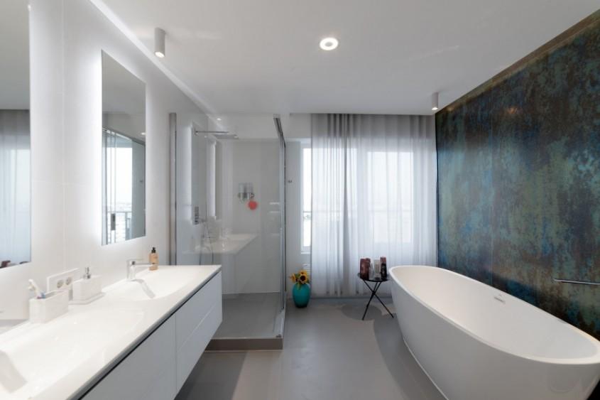 Pavimente si pereti interiori realizati cu placi ceramice de mari dimensiuni Inalco Pavimente - colectia Foster