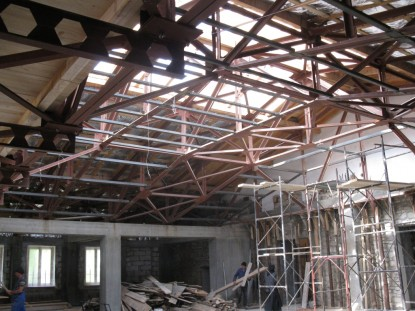 Realizarea lucrarii de reabilitare si extindere a Manastirii Agapia Neamt SAINT-GOBAIN CONSTRUCTION PRODUCTS ROMANIA - DIVIZIA