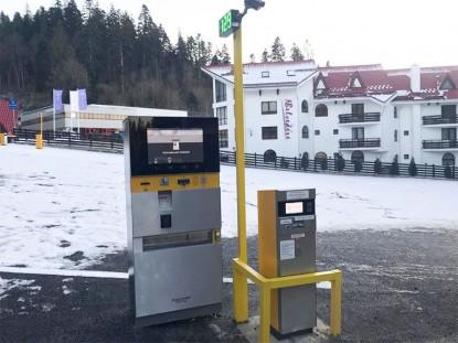 Sistem parcare cu plata EQUINSA la Hotel Edelweiss  Poiana Brasov TRITECH GROUP