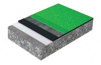 Sika®-ComfortFloor® Decorative Pro - Sapa izolatoare fonic colorata cu emisie redusa de compusi organici volatili VOC