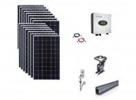 Sistem fotovoltaic on-grid Growatt 5kwp prindere tigla