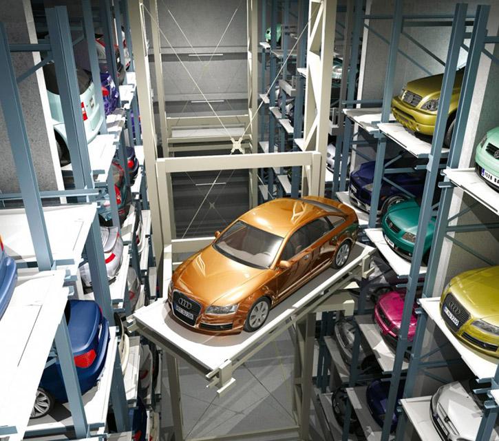 Sistem de parcare automat Multiparker 710-720-730