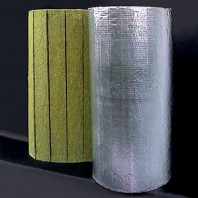 Saltele lamelare vata bazaltica cu aluminiu - Larock 32 ALS