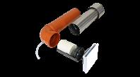 Unitate de ventilatie cu recuperare de caldura pentru pivnita - Sevi160CE