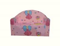 Canapea fixa MELI & MAIA Roz Printesele Disney