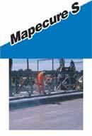 Solutie protectoare peliculogena in solvent pentru betoane si mortare - MAPECURE S
