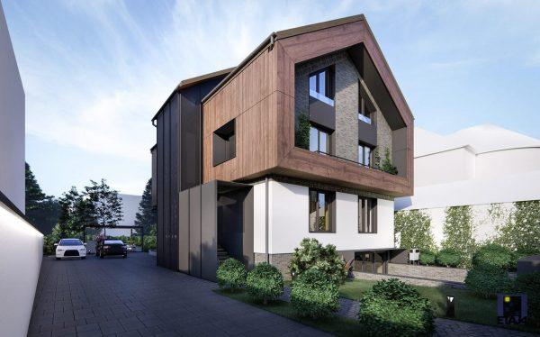 Dalele pot fi potrivite estetic împreună cu aspectul clădirii