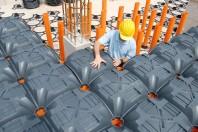 NEW ELEVETOR® - Sistem de cofraje pierdute pentru pardoseli ventilate pentru cladiri rezidentiale si industriale