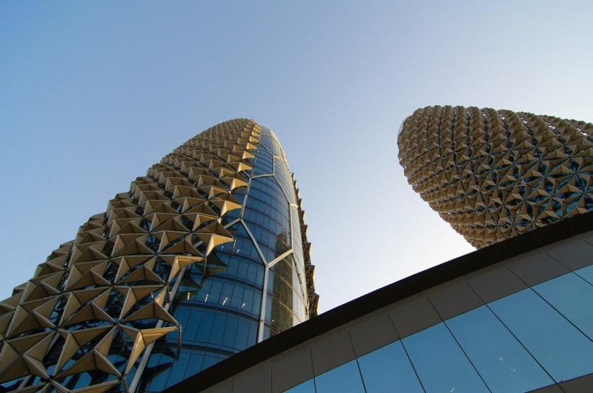 Al Bahar Towers, Abu Dhabi, 2012