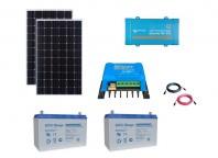 Kit Fotovoltaic Off-Grid 600W cu invertor de 375VA