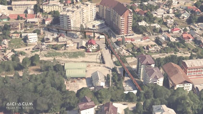 Pasarele cu design futurist, construite într-o staţiune din România. Un proiect unic în ţara noastră