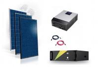 Sistem fotovoltaic Hibrid 8kw cu baterie LifePo