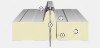 Panou termoizolant pentru acoperis IsoAc 3