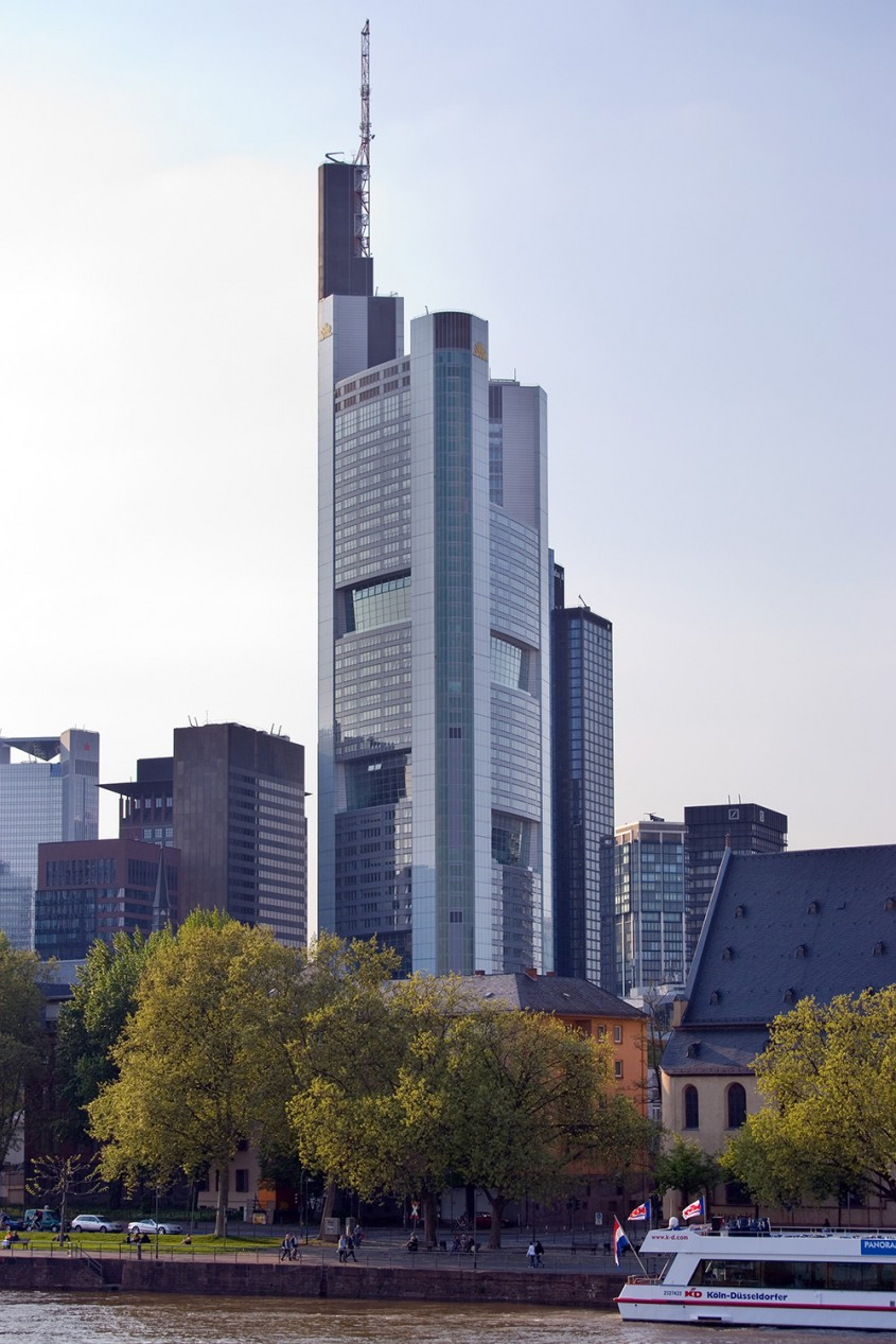 Commerzbank Tower, Frankfurt, 1997