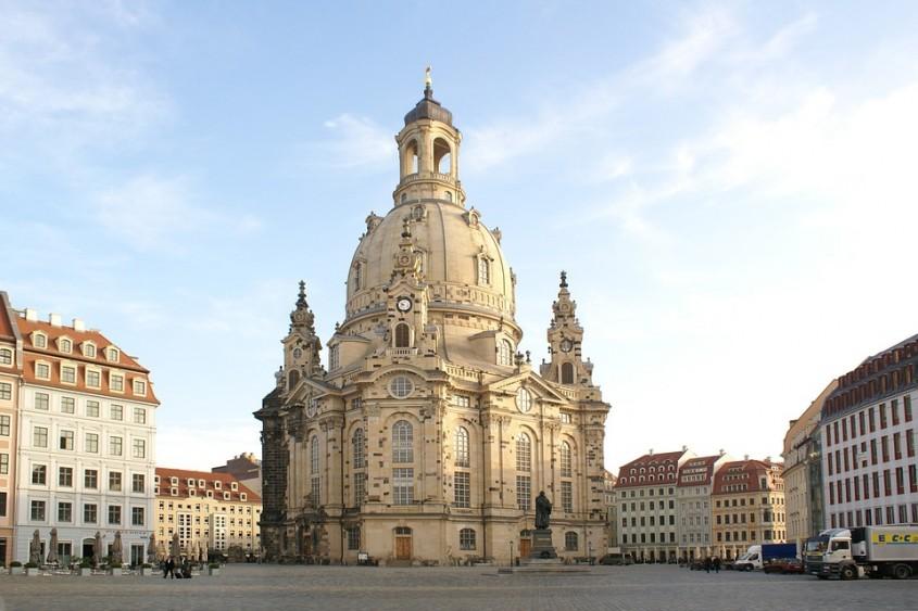 Biserica Frauenkirche din Dresda, Germania