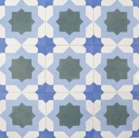 Terrazzo Oriental KR-03 Bleu 20x20x1.8cm PIATRAONLINE  TRZ-2911