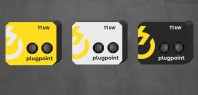 Statie de incarcare Plugpoint Wallbox 11kW dubla
