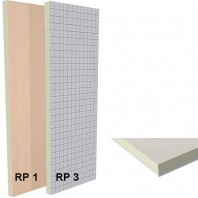 Panou termoizolant sandwich din spuma rigida (PIR) si gips-carton - RP1