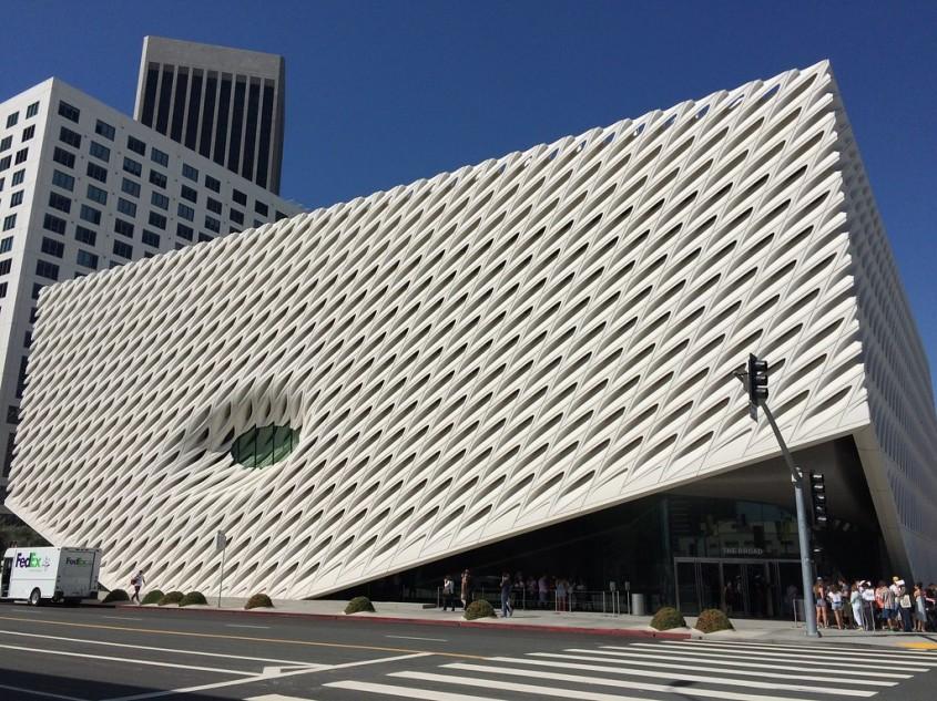 Muzeul de arta Broad de Diller Scofidio + Renfro in colaborare cu Gensler (Los Angeles, 2015)