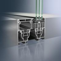 Profil glisant din aluminiu - Schüco ASS 77 PD.HI