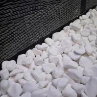 Pebble Marmura Alba Thassos 6-10 cm Sac 20kg PIATRAONLINE  AG-3022