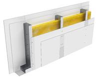 Perete D150, CW100@60, 2x2 Standard 12.5 + MW
