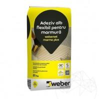 Adeziv Marmura si Granit - Weber Marmo Plus 25kg Weber Saint Gobain Romania  APN-23