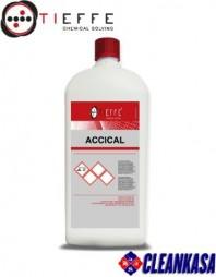 Detergent profesional decalcifiant anticalcar pentru curatarea armaturilor - TIEFFE ACCICAL