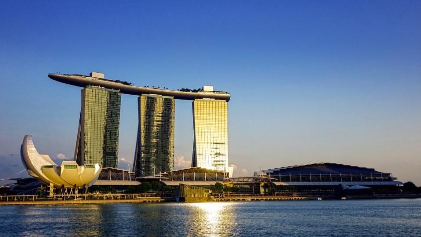 Marina Bay Sands, Singapore, 2010