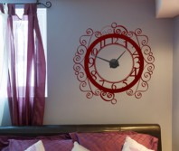 "Sticker tip ceas de perete ""Brizbrizuri"""